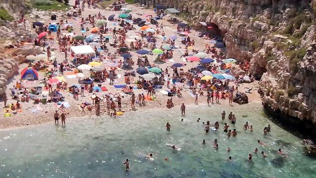 Orla de Bari Nuova em Bari