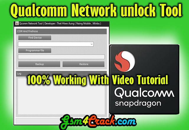 Download Qualcomm Network Unlock Tool (2019)