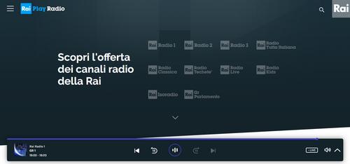 Ascoltare la radio online migliori siti e app tantilink for Radio parlamento streaming