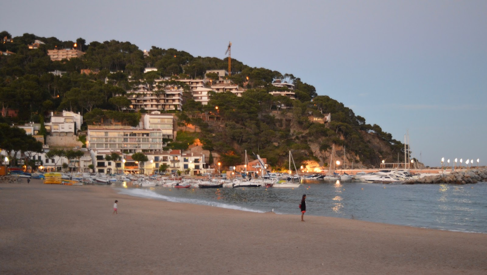 A walk from Calella de Palafrugell to Llafranc - beach