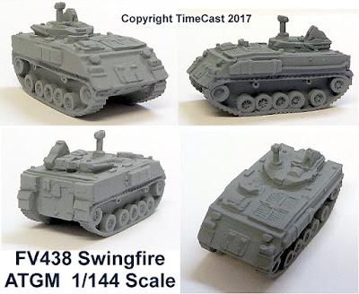 FV438 Swingfire ATGM
