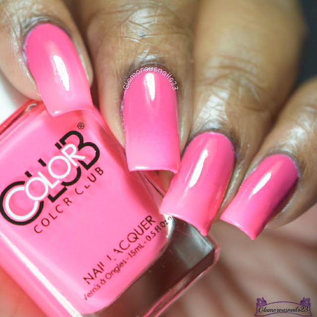 Clairestelle8 February 2017 Day 18 - Pink & Challenge Your Nail Art Week 3 - Gradient