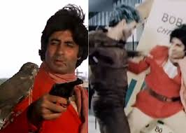 amitabh bachchan in coolie movie