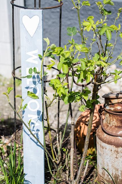 Holzschilder, Gartendeko DIY