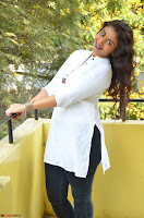 Kiran Chetwani in Denim and White Kurti  Exclusive 038.JPG