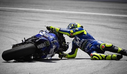 Valentino Rossi Crushed