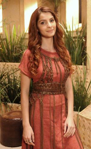 Vestido hebreia Samira