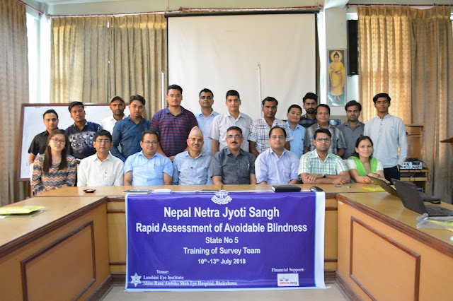 RAAB Survey Nepal participant