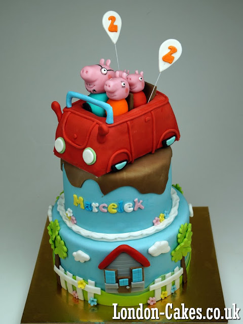 Peppa Pig Birthday Cake in London