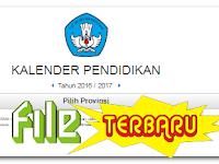 Download Kalender Pendidikan 2016/2017 Terbaru Lengkap Seluruh Provinsi