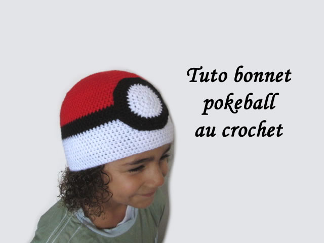 Les tutos de Fadinou: TUTO BONNET POKEBALL CROCHET