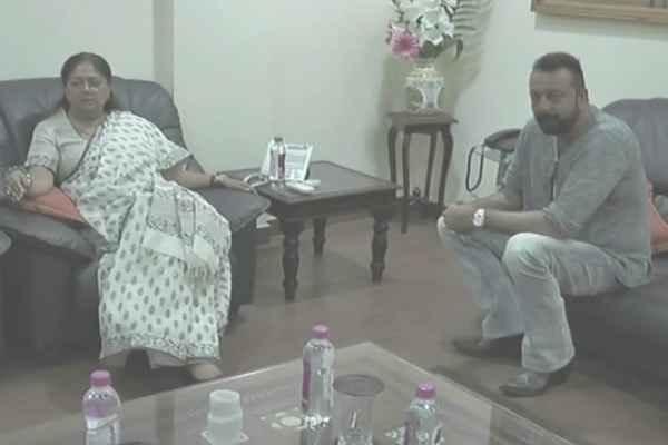 sanjay-dutt-meet-with-vasundhara-raje-praise-her-for-development