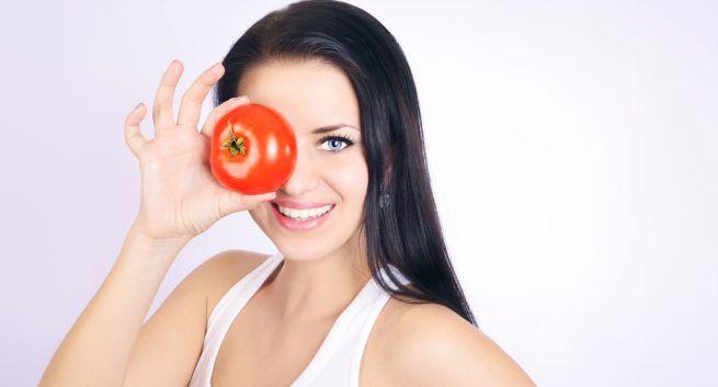 Tomato, tomata mask