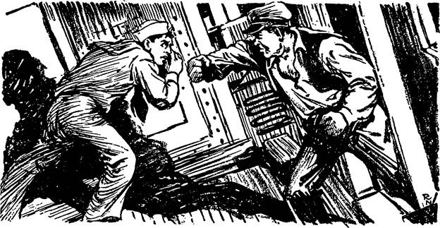 Adventure, January 1, 1928 - Illustration by Ralph Nelson for Cease Firing by Ben J. Petmecky