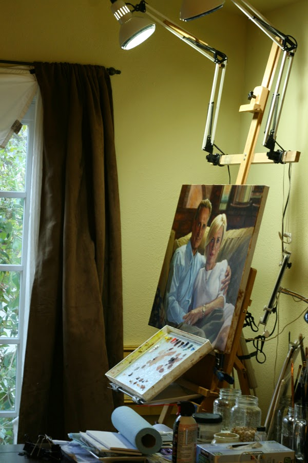Candace X. Moore: New Art Studio Lighting System