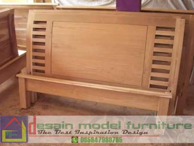 harga dipan minimalis kayu jati jepara