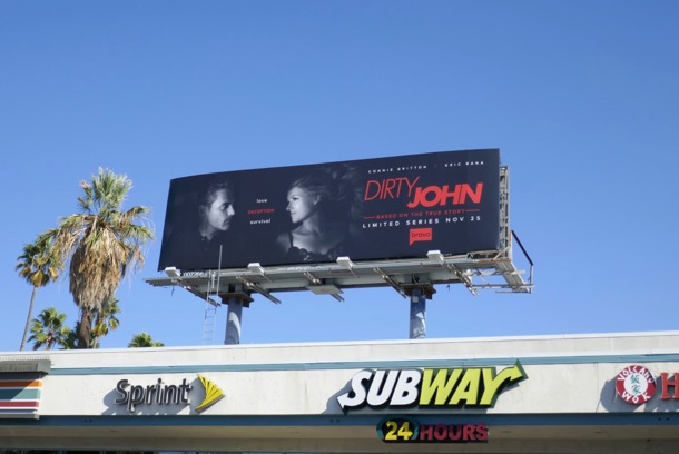 Dirty John limited series billboard