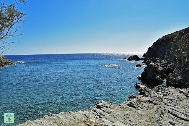 Playa Ambeli, isla de Folegandros (Grecia)