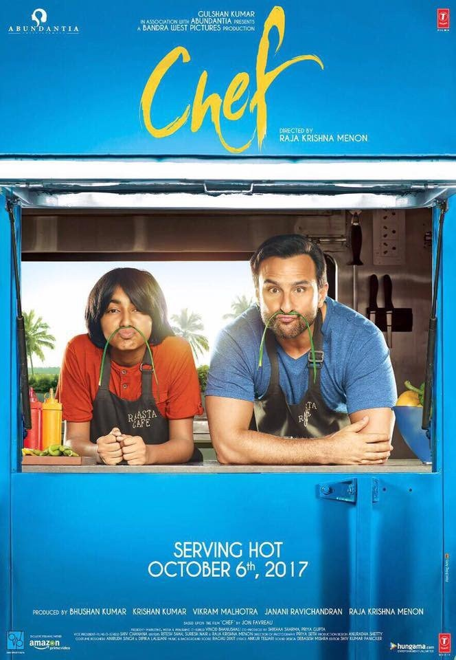 Saif Ali Khan's Chef Film First Look Poster