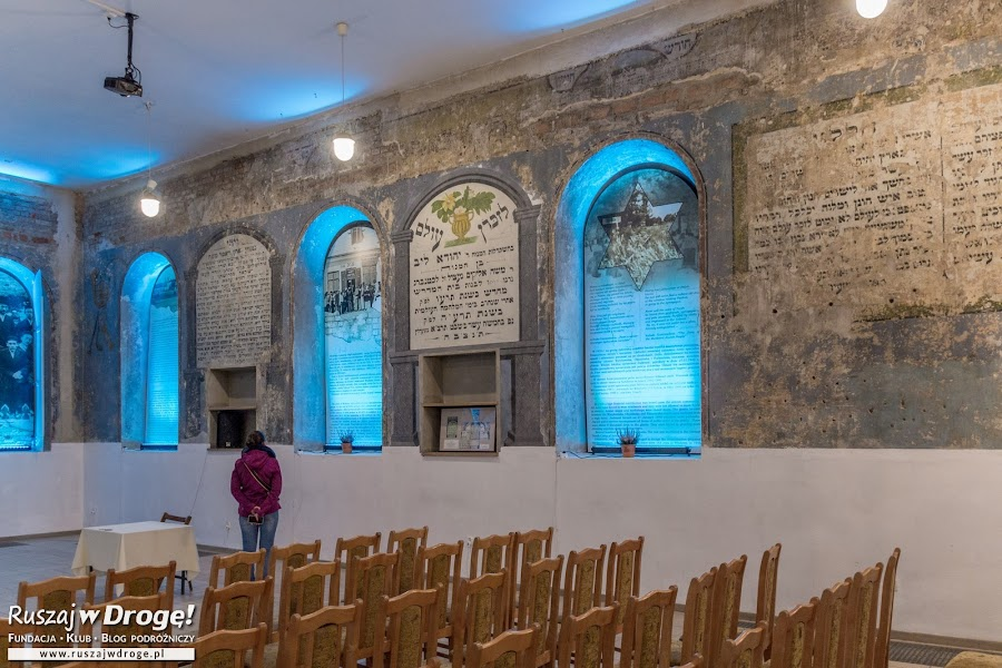 Zabytkowa synagoga we Włodawie