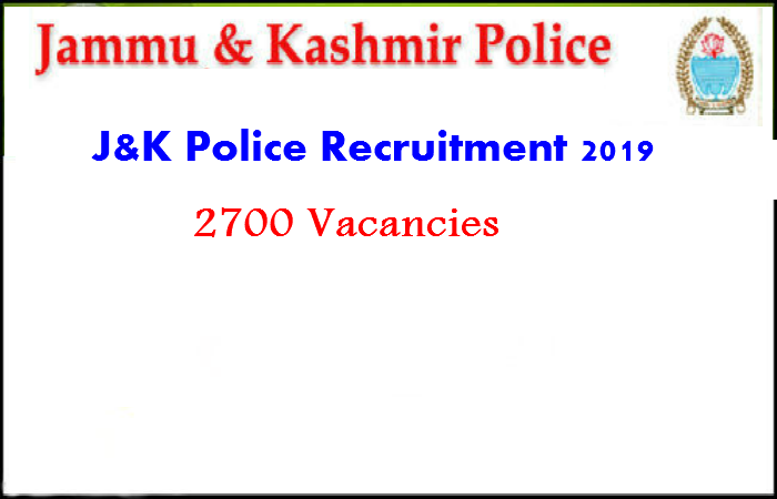 Image result for Jammu and Kashmir Police Recruitment 2019