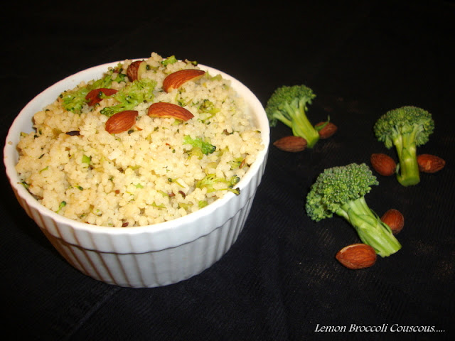 images of Lemon Broccoli Couscous Recipe / Lemon Couscous With Broccoli Recipe / Lemony Couscous with Broccoli Recipe