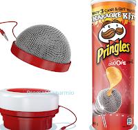 Logo Kit Karaokè in omaggio con Summer Pringles