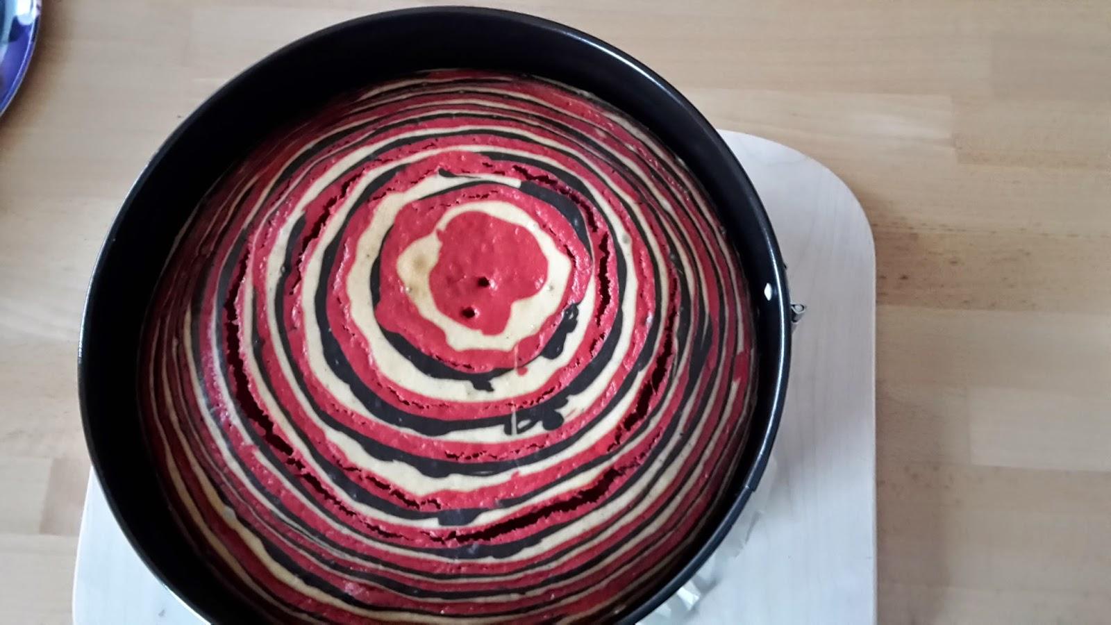 Crazy Kitchen Food More J Zebrakuchen Pink Weiss