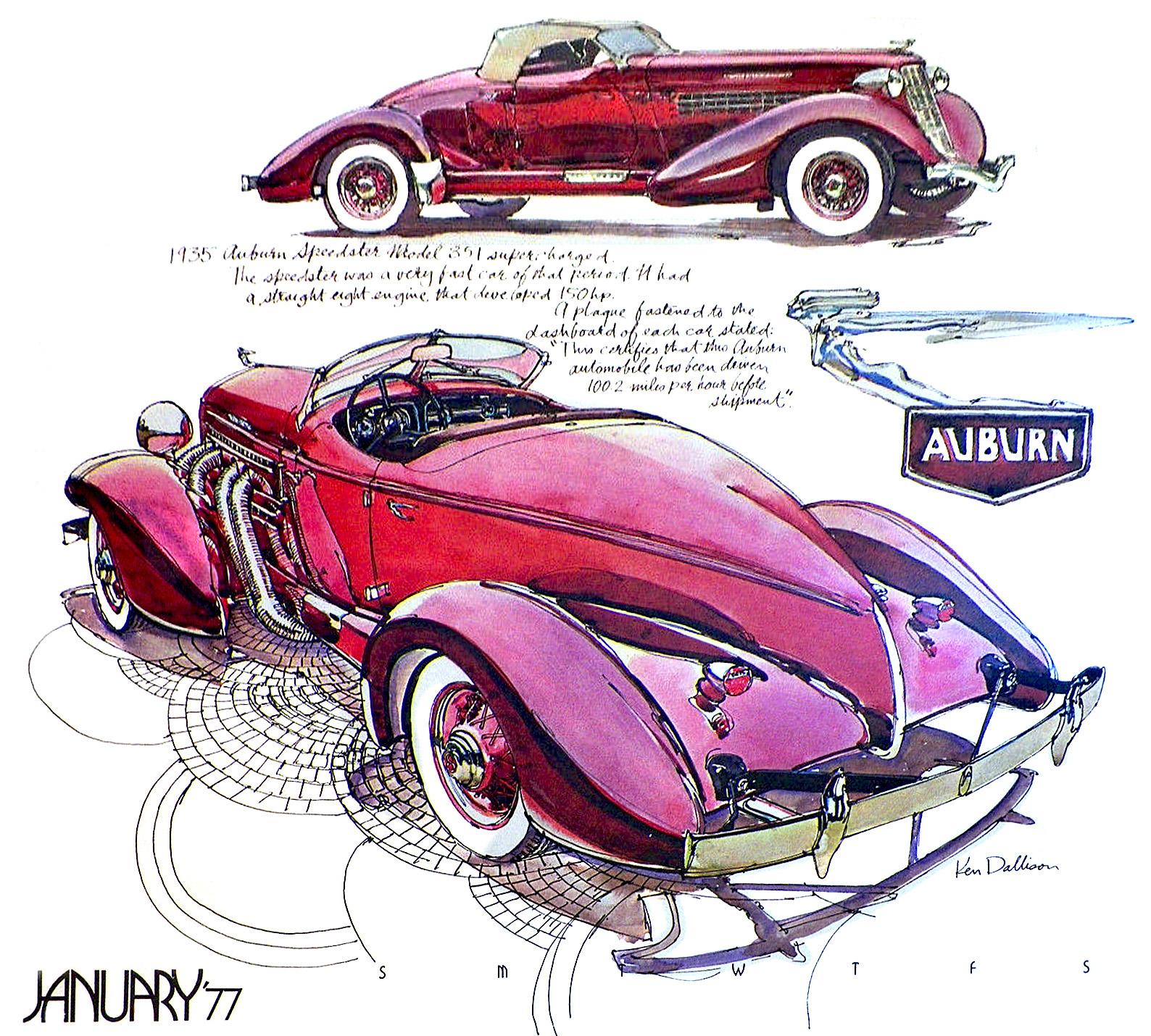 Just A Car Guy: artist Ken Dallison, selected for a kickstarter book ...