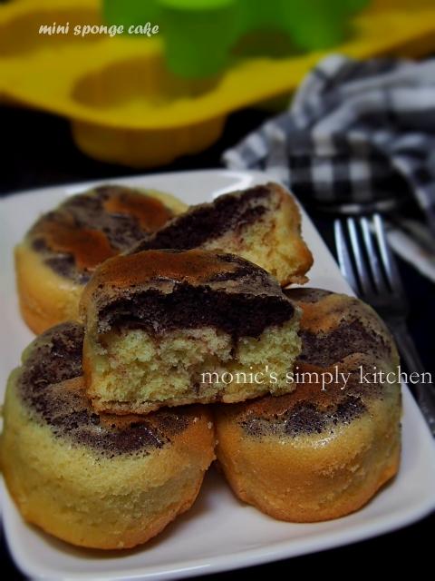 mini sponge cake tanpa emulsifier