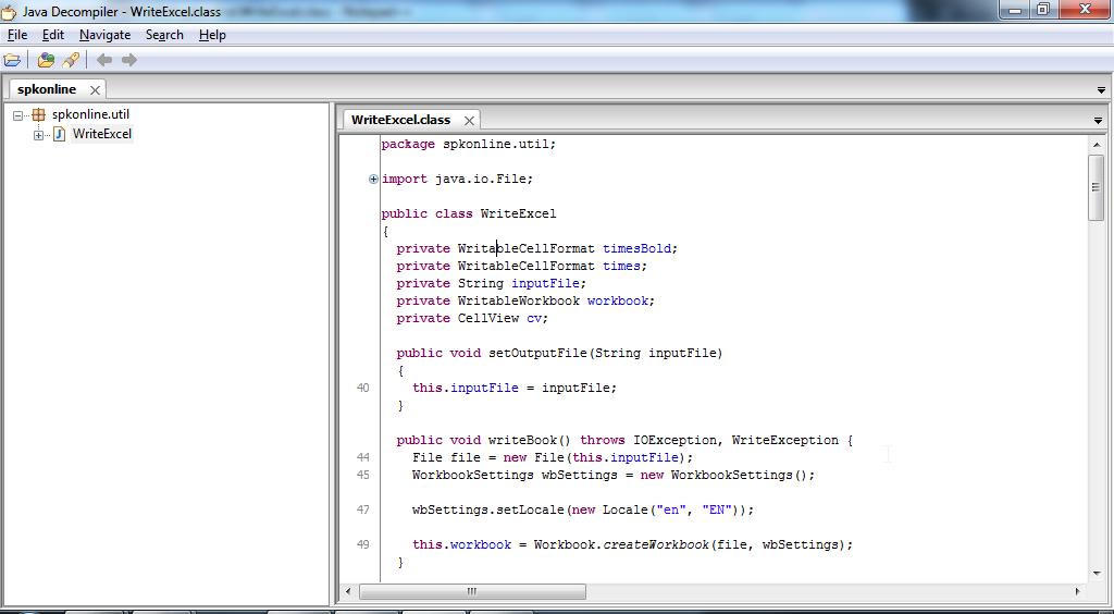 Summary -> What Is Cavaj Java Decompiler
