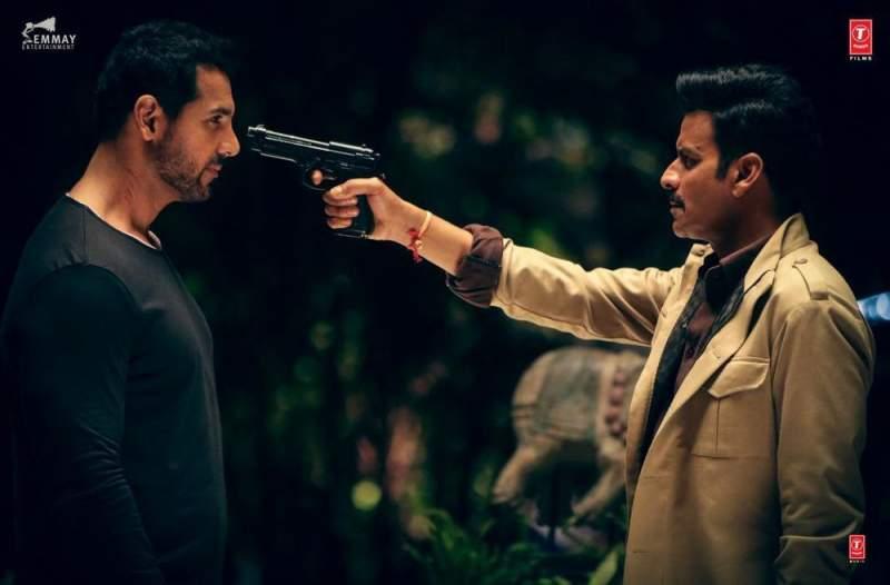 Satyameva Jayate Movie Still John Abraham Manoj Bajpayee