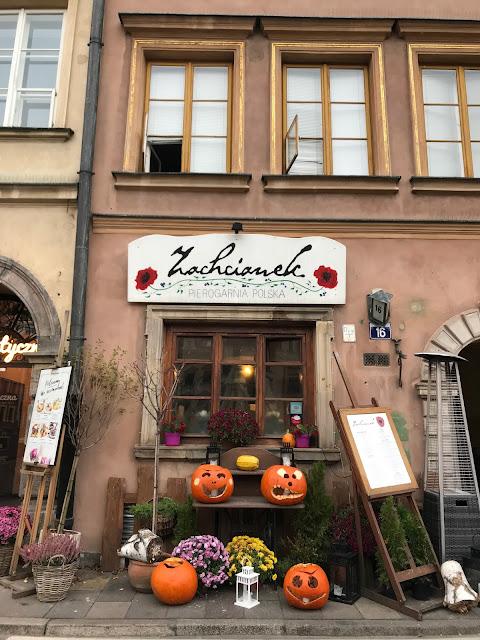 ristoranti a varsavia