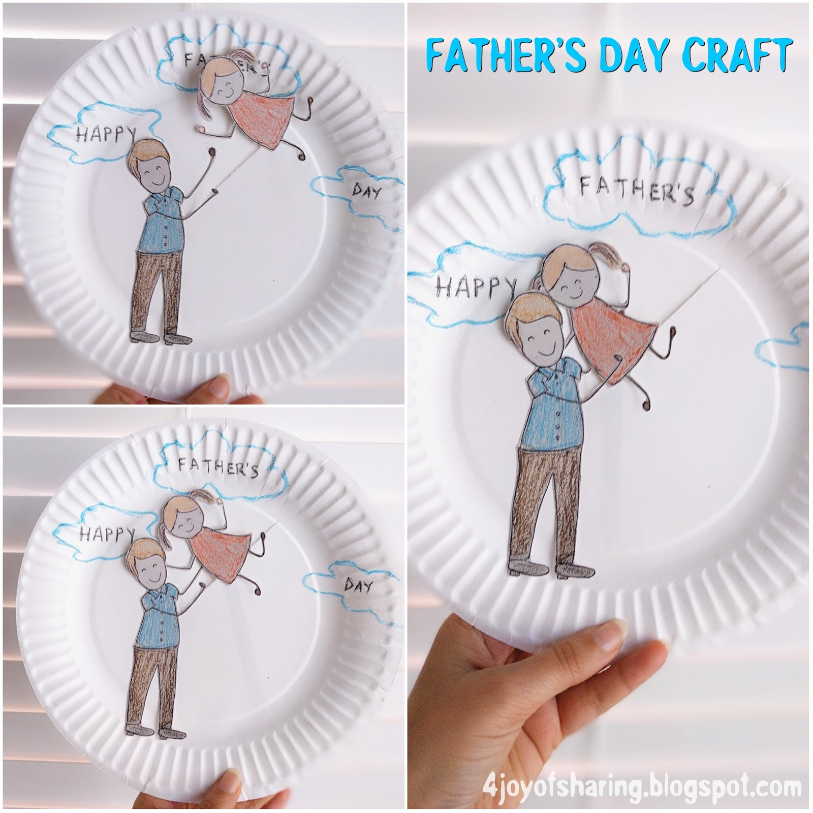 The Joy Of Sharing Father S Day Craft