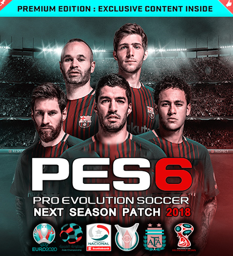 PES 6 Next season Full Patch 2018/2017 - موقع اعداديتي
