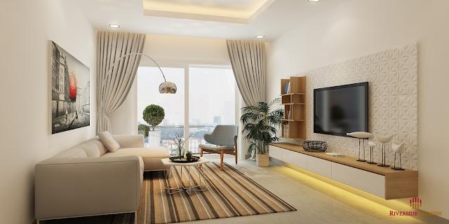 Thiết kế căn hộ Riverside Garden