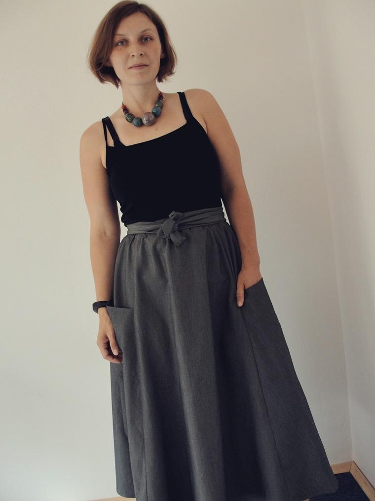 spódnica luzacka wersja midi