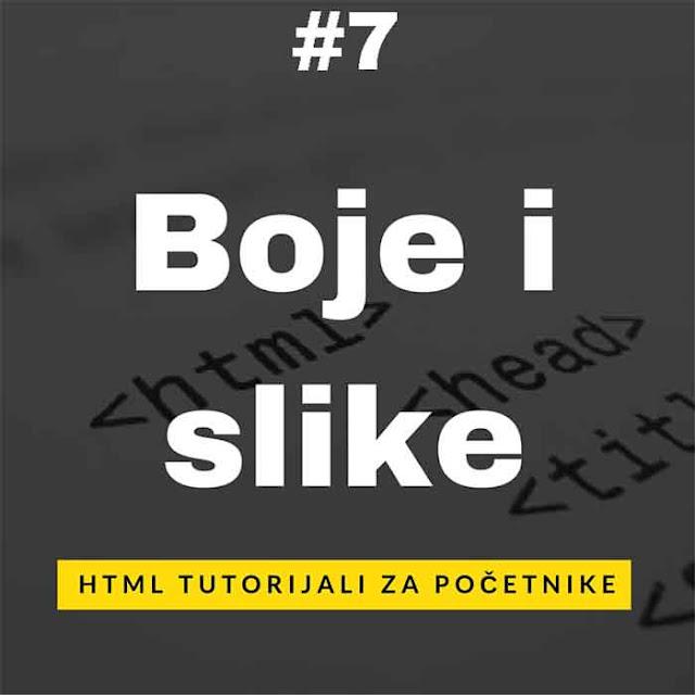HTML Tutorijali na srpskom za početnike
