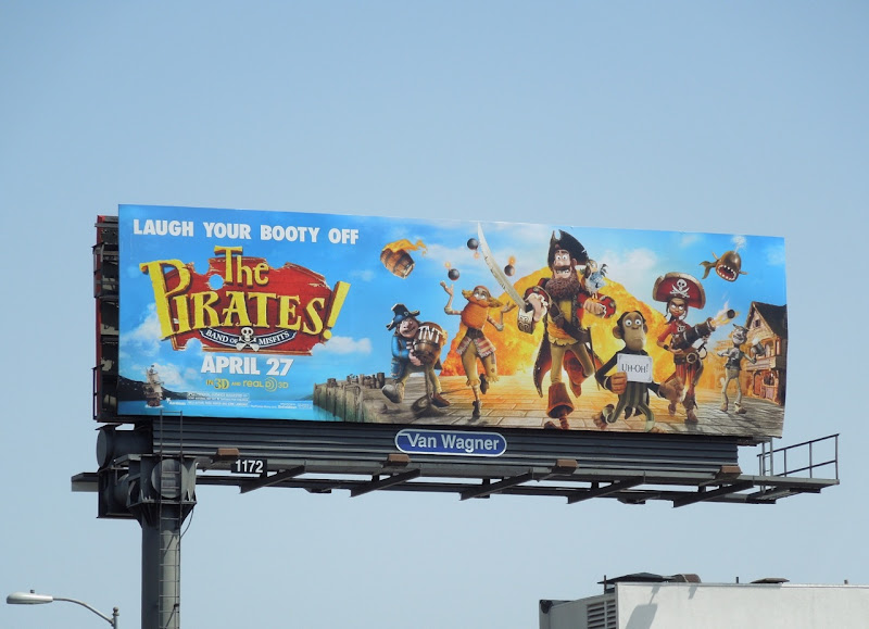 Pirates Band of Misfits billboard