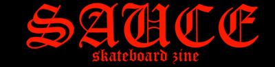 sauce skateboard zine ©