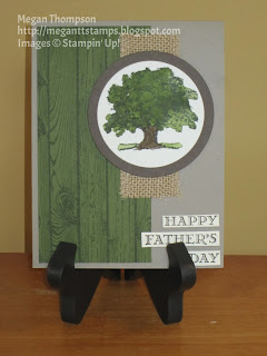 Happy Father's Day tree card