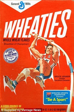 bruce jenner wheaties box - Bruce Jenner