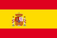 Dibujo de la bandera de España a color