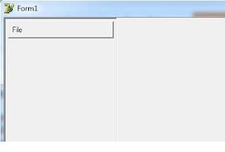 gambar menu delphi dengan frame