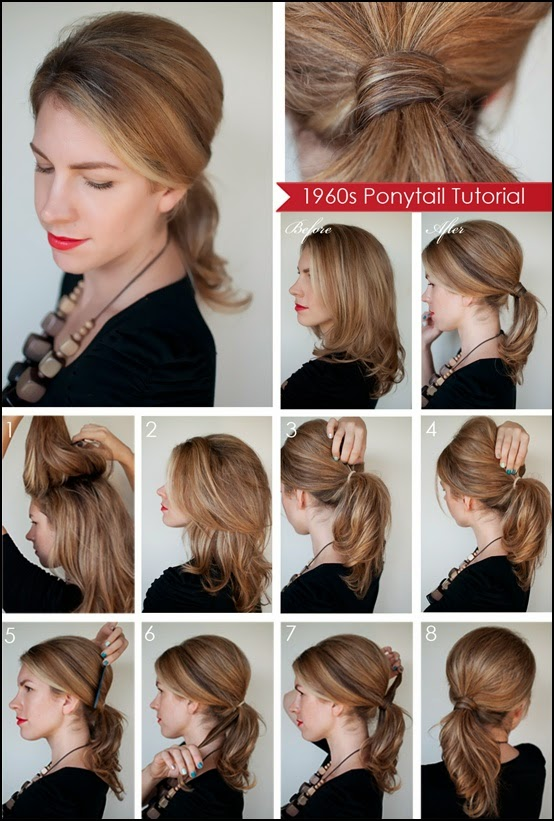 Awesome 3 Pretty Easy Updos For Work Latest Hair Styles Amp Colors Hairstyles For Men Maxibearus
