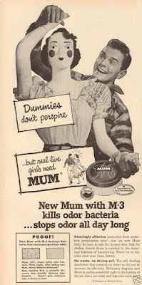 Mum - Dummies don't perspire