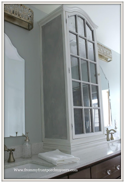 Master Bathroom Makeover-Reveal-Paris gray-Chalk Paint-French Country-French Farmhouse-DIY-Cottage Style-From My Front Porch To Yours