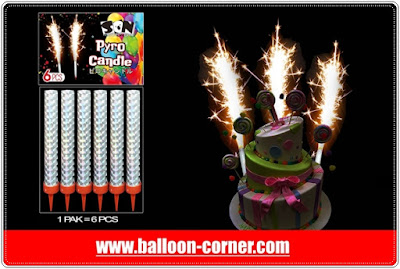 Pyro Candle / Lilin Air Mancur