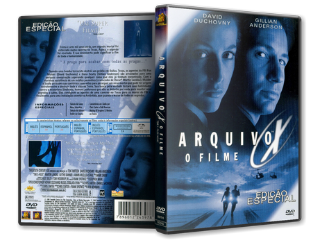 Capa DVD Arquivo X: O Filme