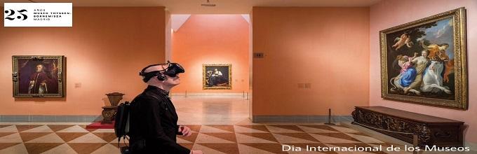 El Museo Nacional Thyssen-Bornemisza nos ofrece ´entrar´ en el cuadro.